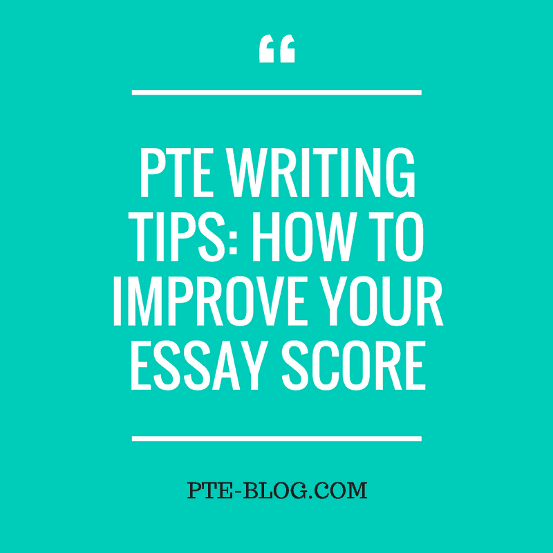 How To Improve Your Credit Score Tips Tricks: PTE Writing Tips: How To Improve Your Essay Score