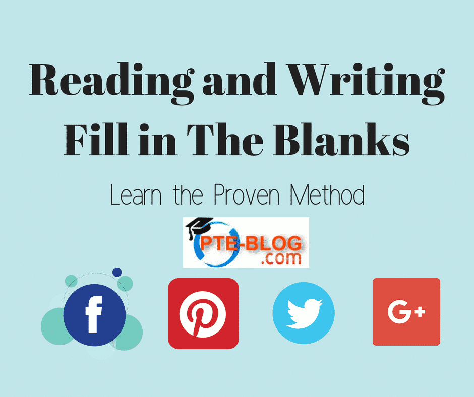 Reading and Writing Fill in The Blanks - Learn the Proven Method
